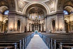 Εσωτερικό του καθεδρικού ναού του Saint-Paul Στοκ Φωτογραφία