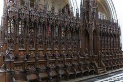 Εσωτερικό του καθεδρικού ναού d'Anvers κυρίας Notre, Anvers, Βέλγιο Στοκ Φωτογραφία