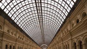 Εσωτερικό του κύριου καθολικού καταστήματος (ΓΟΜΜΑ) - Μόσχα, Ρωσία Στοκ Φωτογραφίες