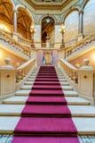 Εσωτερικό του κλασικού κτηρίου Στοκ Φωτογραφία