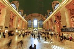Εσωτερικό του μεγάλου κεντρικού σταθμού, Νέα Υόρκη Στοκ φωτογραφία με δικαίωμα ελεύθερης χρήσης