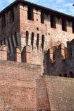 Εσωτερικό του μεσαιωνικού Castle Soncino - της Κρεμόνας - της Ιταλίας 05 Στοκ Εικόνες