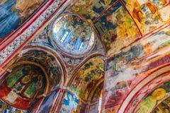 Εσωτερικό του μοναστηριού Gelati κοντά σε Kutaisi, Γεωργία στοκ φωτογραφία με δικαίωμα ελεύθερης χρήσης