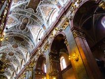 Εσωτερικό του μοναστηριού RA ³ Jasna GÃ Στοκ Φωτογραφίες