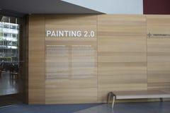 Εσωτερικό του Μουσείου Τέχνης Brandhorst Στοκ εικόνες με δικαίωμα ελεύθερης χρήσης