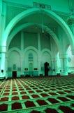 Εσωτερικό του μουσουλμανικού τεμένους α Haji Ahmad Shah σουλτάνων Κ ένα μουσουλμανικό τέμενος UIA σε Gombak, Μαλαισία στοκ εικόνες