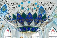 Εσωτερικό του μουσουλμανικού τεμένους Στοκ φωτογραφίες με δικαίωμα ελεύθερης χρήσης
