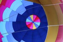 Εσωτερικό του μπαλονιού ζεστού αέρα στοκ εικόνα