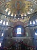 Εσωτερικό του ναυτικού καθεδρικού ναού του Άγιου Βασίλη σε Kronstadt, Άγιο στοκ φωτογραφία με δικαίωμα ελεύθερης χρήσης