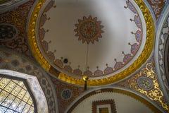 Εσωτερικό του παλατιού Topkapi στη Ιστανμπούλ, Τουρκία στοκ εικόνες με δικαίωμα ελεύθερης χρήσης
