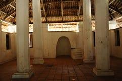 Εσωτερικό του παλαιού μουσουλμανικού τεμένους Pengkalan Kakap σε Merbok, Kedah Στοκ εικόνες με δικαίωμα ελεύθερης χρήσης