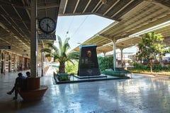 Εσωτερικό του σιδηροδρομικού σταθμού Sirkeci, Ιστανμπούλ, Τουρκία στοκ εικόνες
