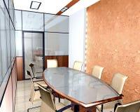 Εσωτερικό του σύγχρονου γραφείου Στοκ εικόνα με δικαίωμα ελεύθερης χρήσης
