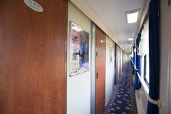 Εσωτερικό του τραίνου Στοκ εικόνα με δικαίωμα ελεύθερης χρήσης