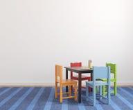 Εσωτερικό του χώρου για παιχνίδη. απεικόνιση αποθεμάτων