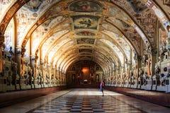 Εσωτερικό του Antiquarium στην κατοικία του Μόναχου στο Μόναχο Στοκ Εικόνες