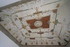 Εσωτερικό του Castle Άγιος Angelo στη Ρώμη Ιταλία τον Ιούνιο του 2017 Overlo Στοκ φωτογραφία με δικαίωμα ελεύθερης χρήσης