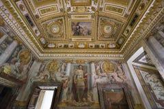 Εσωτερικό του Castle Άγιος Angelo στη Ρώμη Ιταλία Στοκ Φωτογραφία