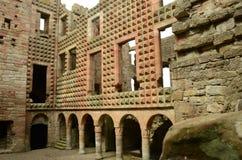 Εσωτερικό του Castle Crichton Στοκ φωτογραφίες με δικαίωμα ελεύθερης χρήσης