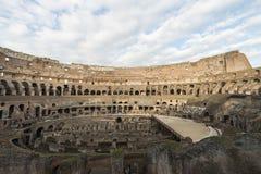 Εσωτερικό του Colosseum στη Ρώμη Στοκ εικόνα με δικαίωμα ελεύθερης χρήσης