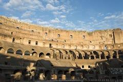 Εσωτερικό του Colosseum στη Ρώμη Στοκ Εικόνα