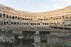 Εσωτερικό του Colosseum στη Ρώμη Στοκ φωτογραφία με δικαίωμα ελεύθερης χρήσης