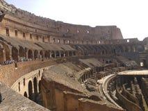 Εσωτερικό του Colosseum Στοκ Εικόνα