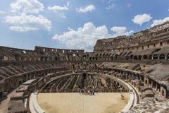 Εσωτερικό του Colosseum Στοκ εικόνες με δικαίωμα ελεύθερης χρήσης