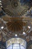 Εσωτερικό του Hagia Sofia Aya Sophia στη Ιστανμπούλ, Τουρκία Στοκ εικόνα με δικαίωμα ελεύθερης χρήσης