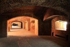 Εσωτερικό του Taylor οχυρών Στοκ φωτογραφία με δικαίωμα ελεύθερης χρήσης