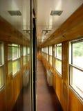 εσωτερικό τραίνο περασμάτων Στοκ φωτογραφία με δικαίωμα ελεύθερης χρήσης