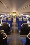 εσωτερικό τραίνο Στοκ εικόνα με δικαίωμα ελεύθερης χρήσης