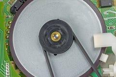 Εσωτερικό των μηχανικών ενός παλαιού VCR Στοκ φωτογραφία με δικαίωμα ελεύθερης χρήσης