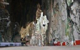Εσωτερικό των σπηλιών Batu Gombak, Selangor Μαλαισία Στοκ Εικόνα