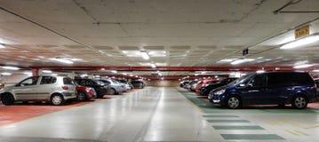 Εσωτερικό υπαίθριων σταθμών αυτοκινήτων Στοκ Φωτογραφία