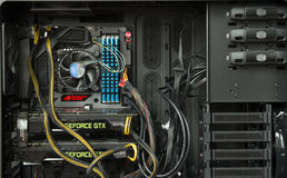 Εσωτερικό υπολογιστών Στοκ εικόνες με δικαίωμα ελεύθερης χρήσης