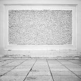 Εσωτερικό υπόβαθρο, πάτωμα πετρών και διακοσμητικός τοίχος στοκ εικόνα με δικαίωμα ελεύθερης χρήσης
