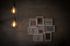 Εσωτερικό φως, καφετερία Στοκ φωτογραφίες με δικαίωμα ελεύθερης χρήσης