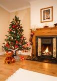 εσωτερικό Χριστουγέννων Στοκ Εικόνες