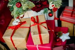 Εσωτερικό Χριστουγέννων στοκ εικόνες με δικαίωμα ελεύθερης χρήσης