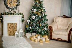 Εσωτερικό Χριστουγέννων Στοκ Εικόνα