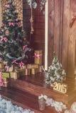 Εσωτερικό Χριστουγέννων στοκ φωτογραφία με δικαίωμα ελεύθερης χρήσης