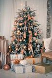 Εσωτερικό Χριστουγέννων Στοκ Φωτογραφίες
