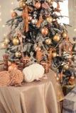 Εσωτερικό Χριστουγέννων Στοκ εικόνα με δικαίωμα ελεύθερης χρήσης