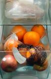 εσωτερικό ψυγείο Στοκ Εικόνα