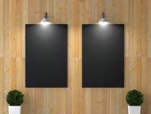 Εσωτερικό δωμάτιο με την εικόνα Στοκ εικόνα με δικαίωμα ελεύθερης χρήσης