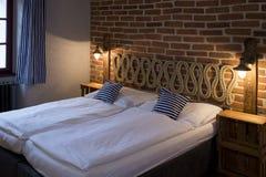 Εσωτερικό δωματίου ξενοδοχείου Στοκ εικόνες με δικαίωμα ελεύθερης χρήσης