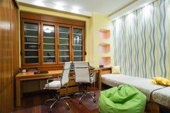 Εσωτερικό δωματίων μελέτης Στοκ Φωτογραφία