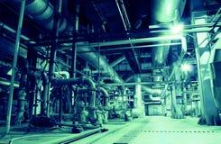 εσωτερικό ύδωρ επεξεργασίας φυτών Στοκ φωτογραφία με δικαίωμα ελεύθερης χρήσης