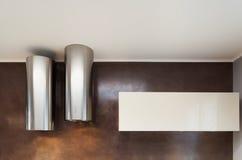 Εσωτερικό, δύο κουκούλες κουζινών Στοκ εικόνα με δικαίωμα ελεύθερης χρήσης
